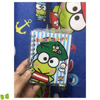 Keroppi Kerokerokeroppi Tickler Notebook