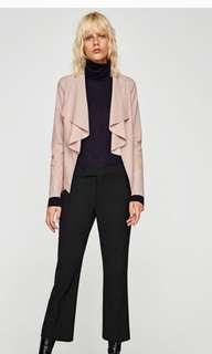 Zara Faux Leather Jacket Blazer - Size M - BNWT