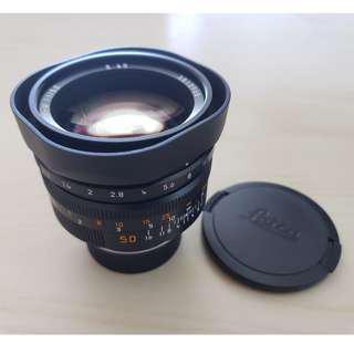Leica Noctilux-M 50mm f1.0 v.4 E60  全套有盒
