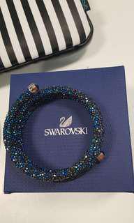 Swarovski Crystal Dust 3 loops Bangle