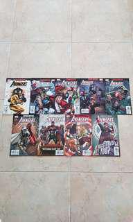 """Avengers: The Initiative (Marvel Comics 9 Issues, #20 to 28, storylines on """"Disassembled"""" & """"Dreams/Nightmares"""")"""