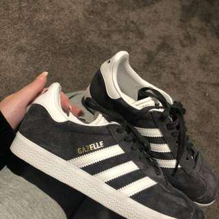 Brand New Grey Adidas Gazelles