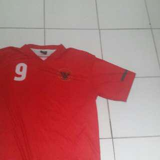 Jersey timnas indonesia cristian gonzales