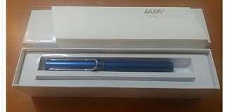 """全新禮盒裝""""lamy"""" safari走珠筆/全新禮盒裝德国""""lamy"""" al star鋁桿墨水筆連ink cartridge"""