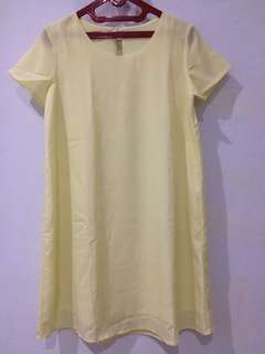 Veyl yellow dress