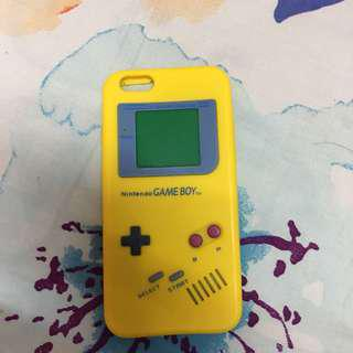 (INC POS) iPhone 6/6s Gameboy Silicone Case