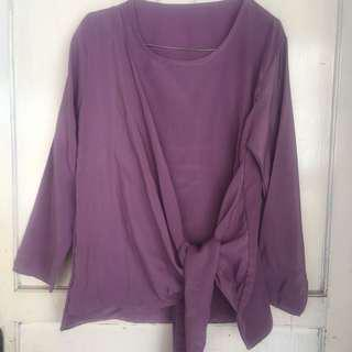 Blouse purple