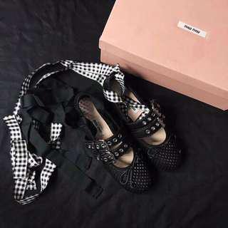 Miumiu舞蹈鞋