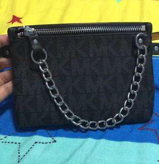 MK bum bag belt black