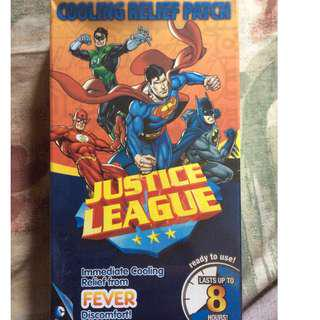 Justice League Cooling Relief Patch