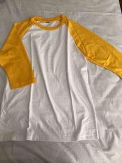 Yellow Baseball Shirt (River Vixen Uniform)