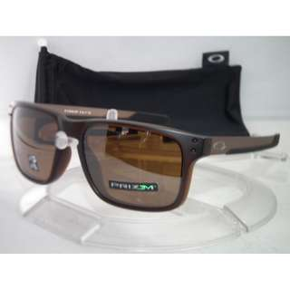 Authentic Brand New in Box Oakley Polarized Holbrook Mix OO9384-0857 Matte Rootbeer /Prizm Tungsten Iridium