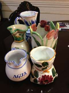 spain vases imported