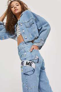Topshop mom LOVEMENOT jeans