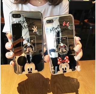 Mickey and Minnie mouse case