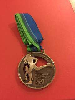 Standard Chartered 2009 Full Marathon Finisher Medal