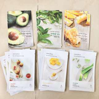 Innisfree nature republic sheet mask