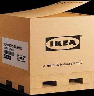 🚚 Ikea 經典造型棧板便條紙