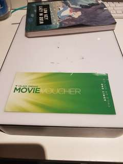 Village Cinemas movie Voucher child/senior