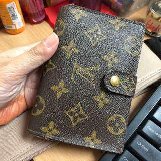 Lv french kisslock wallet