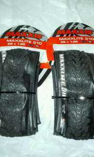 100% NEW MANY 26/27.5/29 MAXXIS MAXXLITE ULTRALIGHT TIRES 超輕外呔 , 送撬呔棒2枝