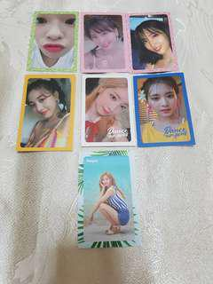 WTT/WTS Twice Dance the Night Away photocards