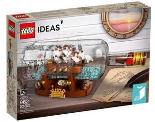 [NEW] Lego 21313 Ship in a Bottle