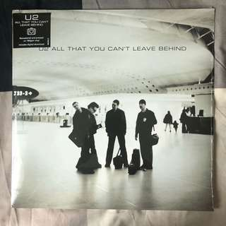 *BRAND NEW/SEALED* - U2 - All That You Can't Leave Behind - Vinyl LP - German Press