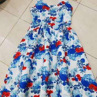 Zalora floral dress
