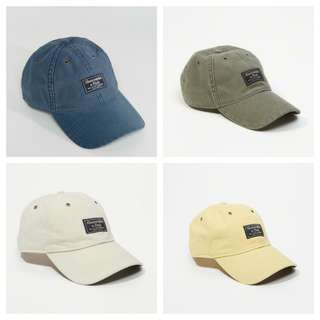 a4b1dae63c5 Abercrombie and Fitch A F Authentic Hat Baseball Cap