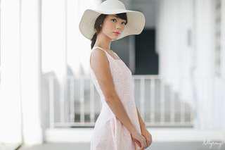 Lollyrouge blushing stencil dress