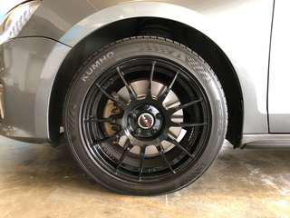 MAK Wheels 5x112 5h112 Jetta Golf Beetle Rim