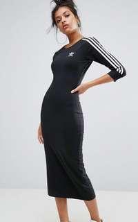Adidas midi dress