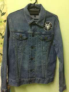 Uniqlo Original denim jacket with custom patch