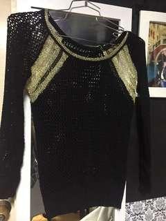 BLack & Gold sweater