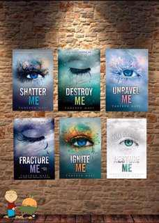 Tahereh Mafi Shatter Me Series E-book