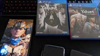 PS4 Yakuza Kiwami Yakuza 6