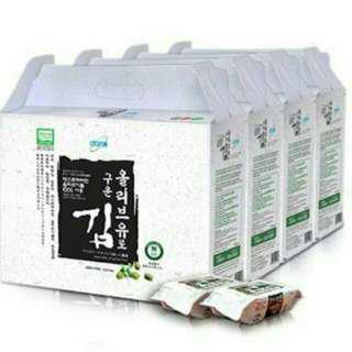 🚚 過年送禮手工香烤海苔(4盒x24包)