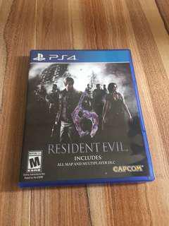 Ps4 ResIdent Evil 6 (生化危機 6)