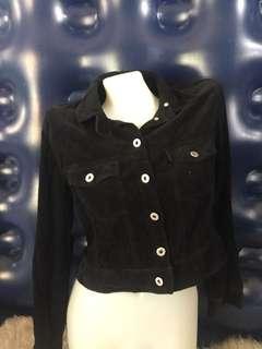 Corduroy Black Long Sleeves