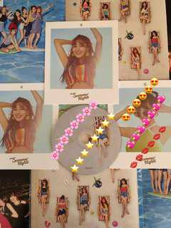 (WTT) TWICE Summer Nights Polaroid Postcard & CD