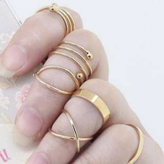 Macy Rings Set