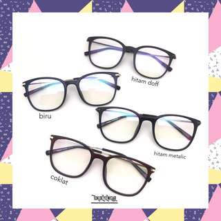 frame kacamata pria & wanita (frame excel)