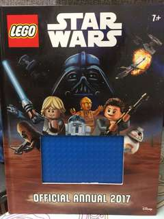 Lego Star Wars book