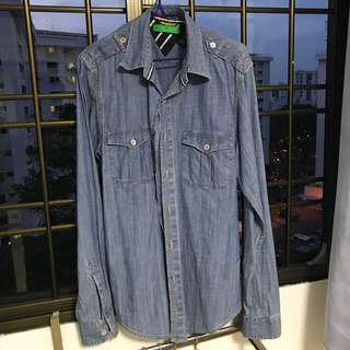 Tommy Hilfiger denim button shirt