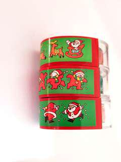 🆕️Assorted Christmas Rolling Stamps