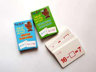 Addition and Subtraction Educational Game Cards