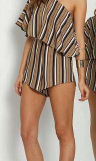 Striped Jumpsuit BNWT