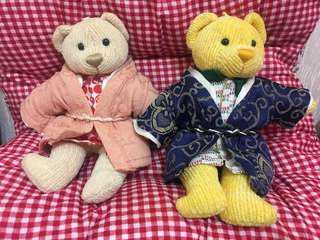 全新7-11復刻版制服熊(連和服)