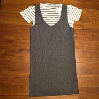 韓國連身針織洋裝